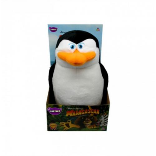 мягкая игрушка пингвин из мадагаскара шкипер